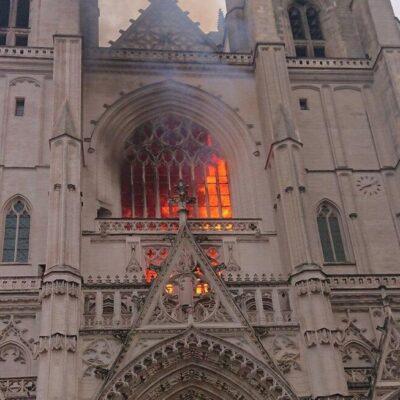 Подозреваемый в поджоге собора во французском Нанте дал признательные показания