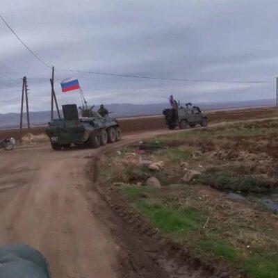 В Сирии российские и турецкие военные совместно проводят патрулирование
