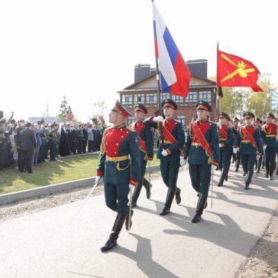 Во Владимирской области открыли памятник Александру Суворову