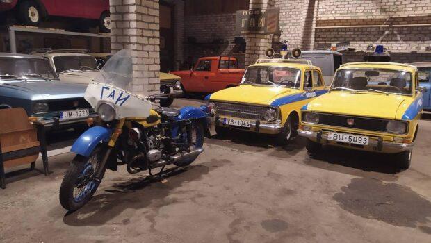 Музей советских автомобилей открылся в Латвии