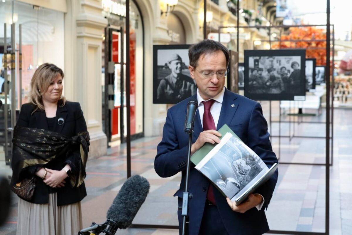 Владимир Мединский открыл выставку уникальных фото Анатолия Архипова