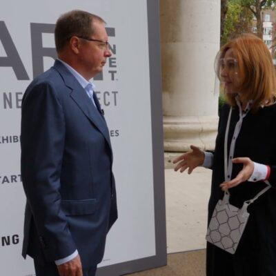 Посол России Андрей Келин посетил ежегодную выставку «Start Art Fair» в лондонской «Saatchi Gallery»