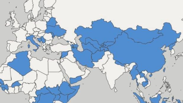 Гуманитарная карта: интерактивный цифровой портал как Россия содействует международному развитию