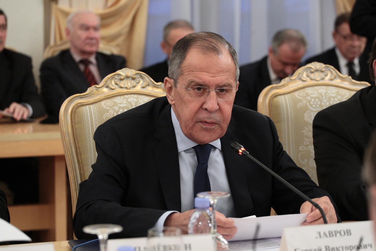 Лавров выступил на заседании Фонда поддержки и защиты прав соотечественников