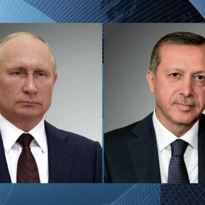Борьба с пандемией коронавируса стала одной из тем телефонного разговора президентов России и Турции
