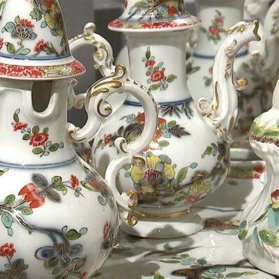 Уникальные экспонаты из коллекции фарфора князей Юсуповых представлены в музее-усадьбе «Архангельское»