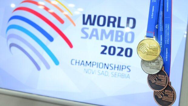 Российские самбисты завоевать 17 золотых медалей на чемпионате мира в Сербии