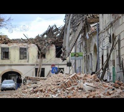 В Хорватии растет число жертв разрушительного землетрясения