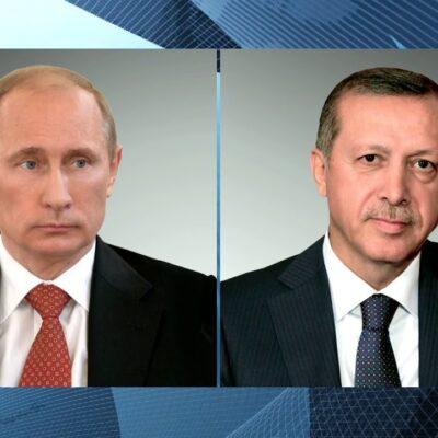 Состоялся телефонный разговор Владимира Путина с президентом Турции