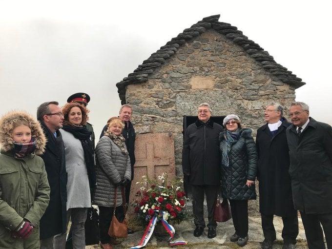 В Андерматте прошла традиционная церемония поминовения павших на перевале St. Gotthard