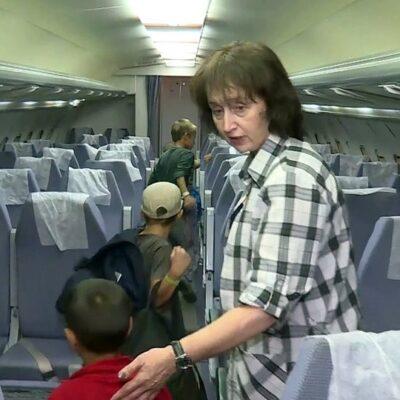 В Россию из Сирии спецбортом вернули еще 27 детей