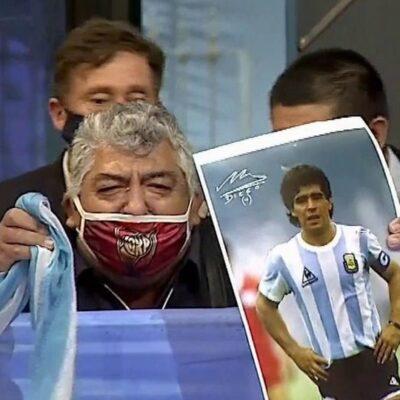 В Аргентине прощаются с Диего Марадоной