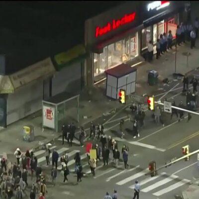 В Филадельфии и Вашингтоне за несколько дней до выборов разгорелась новая волна беспорядков