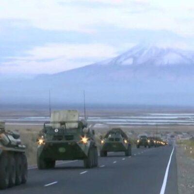 Российские миротворцы открыли движение через Лачинский коридор