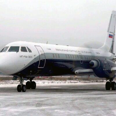 Первый полет совершил турбовинтовой пассажирский лайнер Ил-114-300