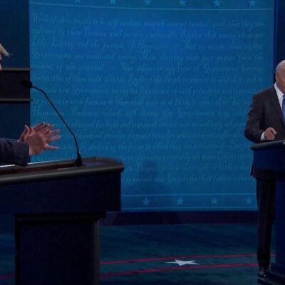 В США прошли последние перед выборами дебаты Дональда Трампа и Джо Байдена