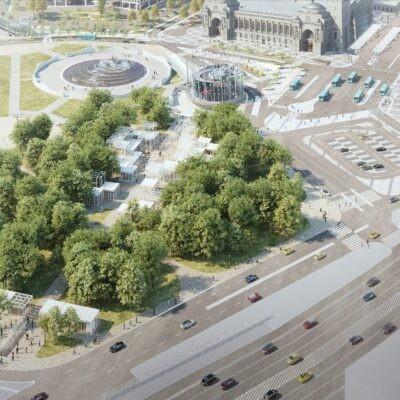 Большое благоустройство вокруг Киевского вокзала столицы. Что изменится для пассажиров и для жителей этого района?