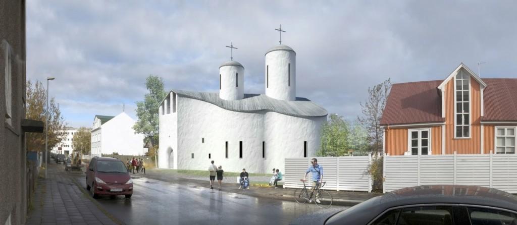 Православная часовня в Рейкьявике пострадала от рук вандалов