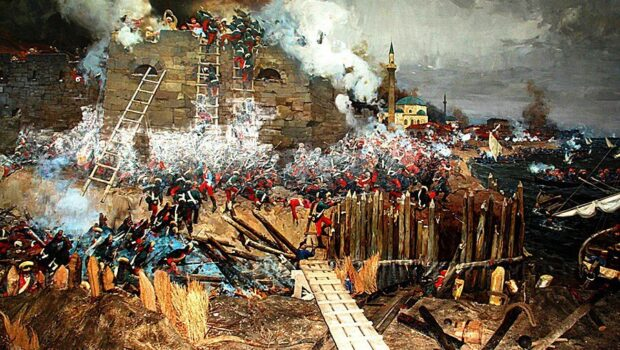 230 лет назад русские войска во главе с Суворовым взяли турецкую крепость Измаил