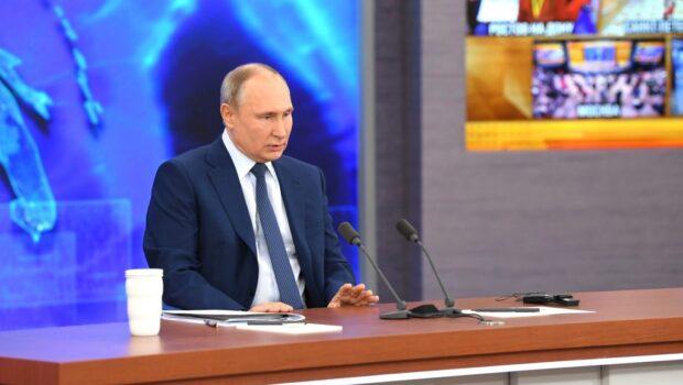 Владимир Путин: Россия будет наращивать поддержку Донбасса