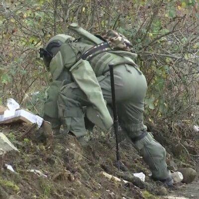 Российские саперы приступили к новому этапу разминирования в Нагорном Карабахе