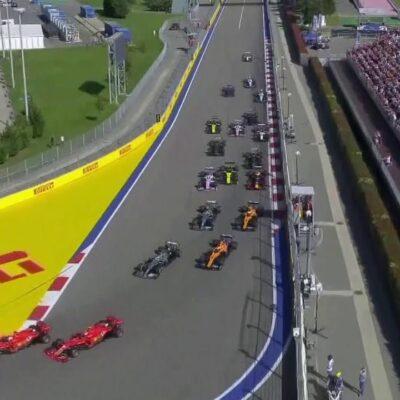 В Сочи уже доставлены первые болиды «Формулы-1»