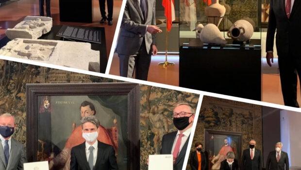 Австрия возвращает в Россию культурные ценности похищенные нацистами в годы войны