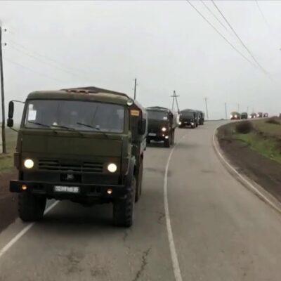 Минобороны: Режим прекращения огня в Нагорном Карабахе соблюдается по всей линии соприкосновения