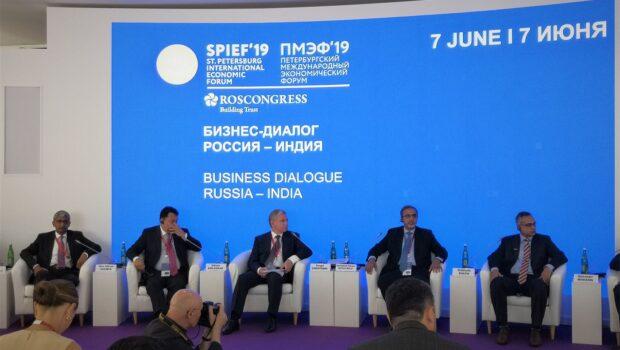 Россия и Индия обсудили экономическое партнерство на ПМЭФ-2019