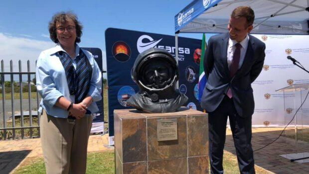 Памятник Юрию Гагарину установили в Кейптауне