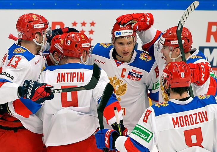Сборная России по хоккею выиграла Кубок Первого канала