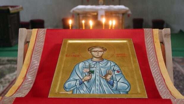 Православному монастырю в немецком Гётшендорфе передали икону святого Александра Мюнхенского