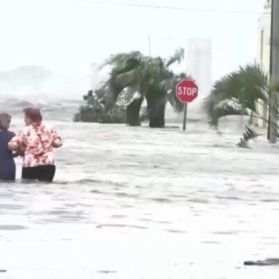 В американском штате Алабама полмиллиона домов и предприятий остались без света во время урагана
