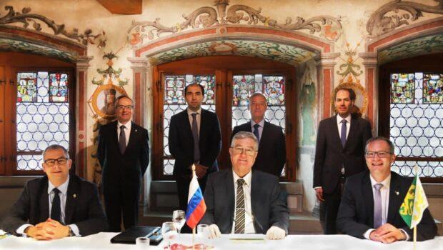 Посол России в Швейцарии нанес официальный визит в кантон Тургау