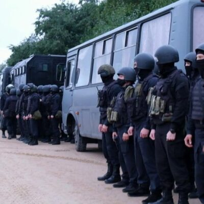 Резерв российских силовиков у границы с Белоруссией снимается и возвращается к местам дислокации