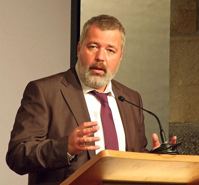 Главный редактор «Новой газеты» Дмитрий Муратов стал лауреатом Нобелевской премии мира
