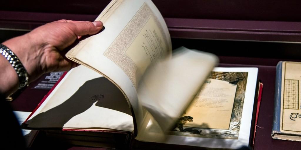 Из Германии в Россию передали книги, украденные фашистами