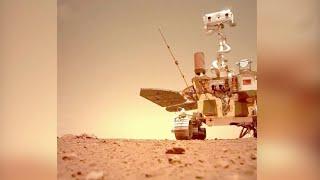 Китай отчитался о ходе миссии на Марсе