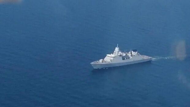 Стали известны подробности инцидента с голландским фрегатом в акватории Черного моря