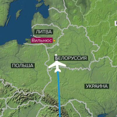 В МИД Белоруссии прокомментировали инцидент с незапланированной посадкой самолета