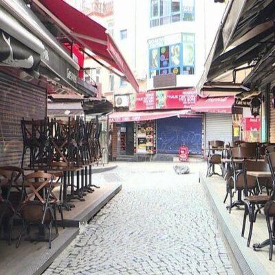 В Турции обстановка с коронавирусом ухудшилась настолько, что комендантский час действует круглосуточно
