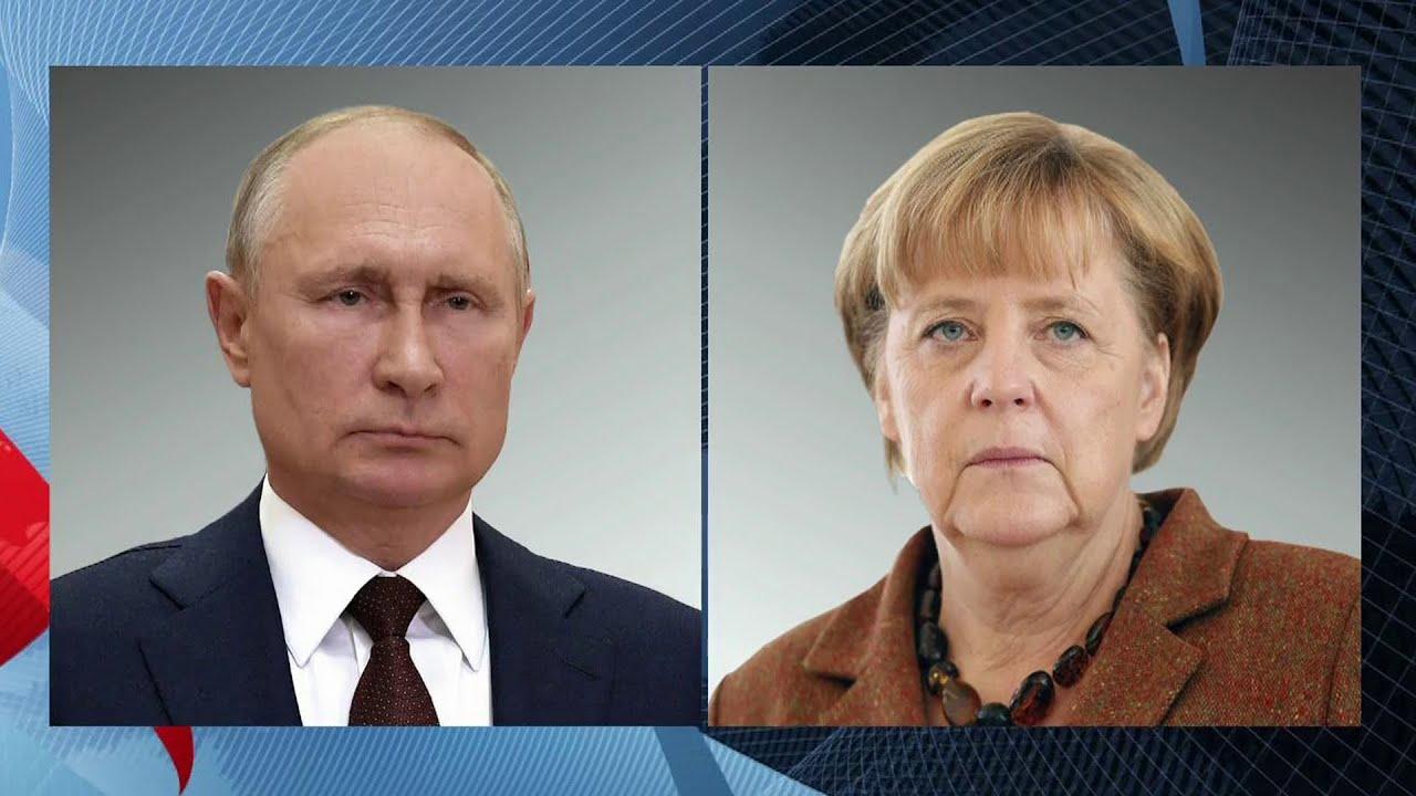Владимир Путин проведет в Москве переговоры с канцлером ФРГ Ангелой Меркель