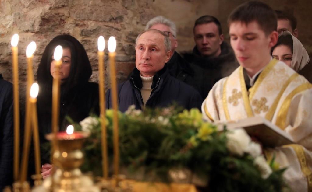 Владимир Путин поблагодарил мусульман в Сирии за бережное отношение к христианским святыням