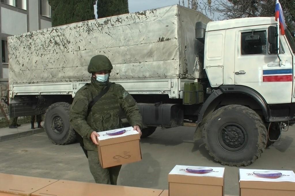 Более 250 зданий в Нагорном Карабахе восстановлены при помощи России