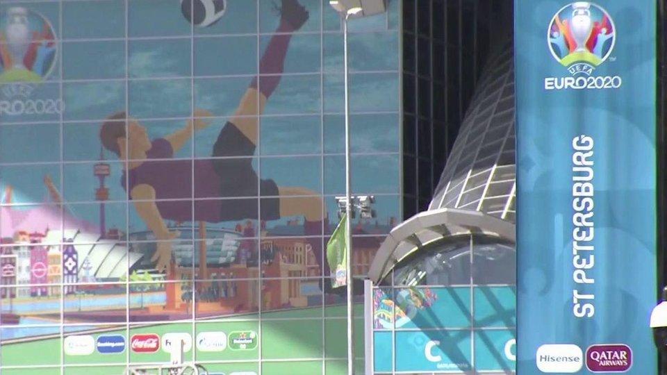 В Петербурге все готово к началу Чемпионата Европы по футболу UEFA EURO 2020