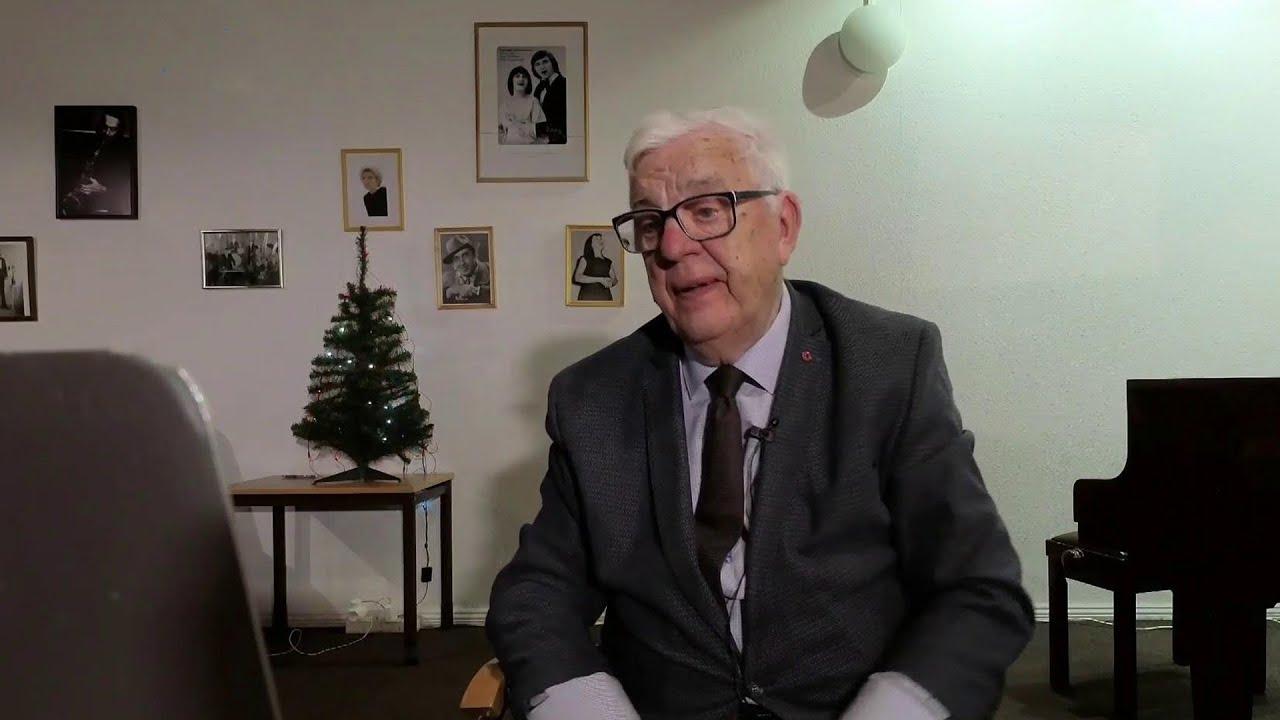Народный артист СССР Раймонд Паулс принимает поздравления с 85-летием