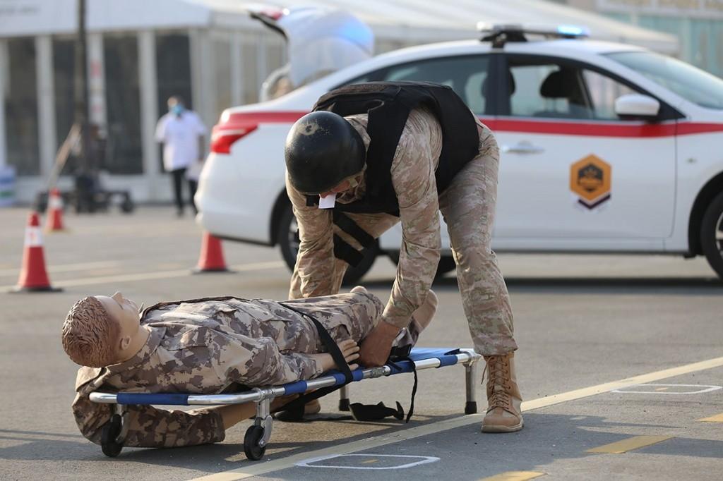 Россияне выиграли конкурс военных полицейских в Катаре