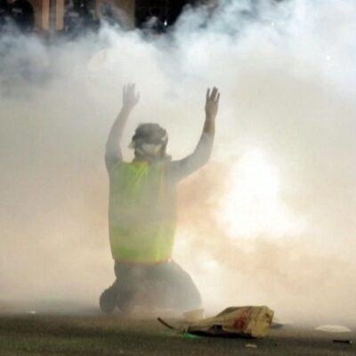 Анархия в американской Миннесоте после гибели еще одного темнокожего от рук полицейских