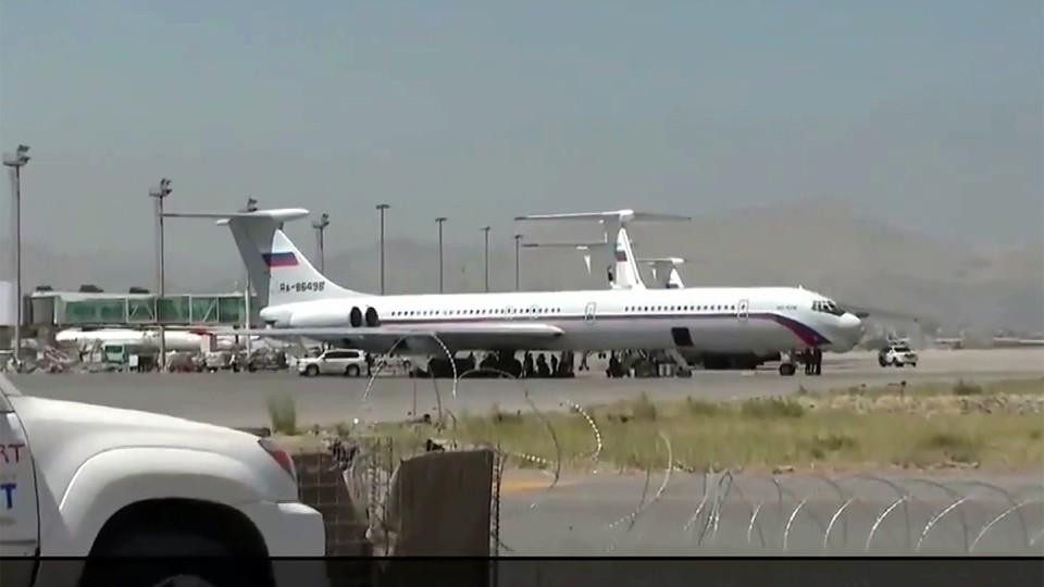 В Россию на самолетах Минобороны прибыли те, кто принял решение покинуть Афганистан