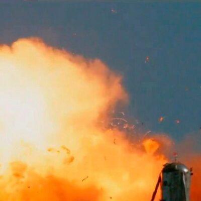 В США неудачей закончились очередные испытания ракеты компании Space X
